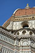 image of cupola  - Detail of the cupola of the Cathedral of Santa Maria del Fiore - JPG