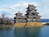 Постер, плакат: Замок Мацумото Япония