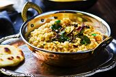 stock photo of tadka  - dhal with pumpkin - JPG