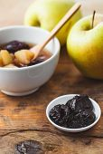 pic of prunes  - Apple and Prune Compote - JPG