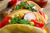 image of tacos  - Mexican food Taco - JPG