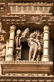 picture of kamasutra  - Stone carved erotic sculptures on Vamana Temple - JPG
