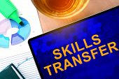 picture of transfer  - Words  Skills Transfer on the tablet and charts - JPG