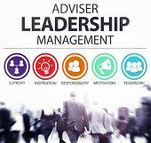 image of responsible  - Adviser Leadership Management Director Responsibility Concept - JPG