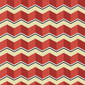 picture of zigzag  - Retro zigzag seamless pattern - JPG