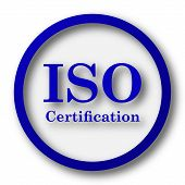 picture of certificate  - ISO certification icon - JPG