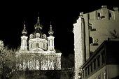 stock photo of 1700s  - most famous landmark in baroque style in kiev ukraine - JPG