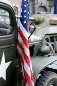 Wwii Us Military Truck poster