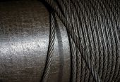 Постер, плакат: Heavy Steel Wire Cable In Industry