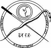 Постер, плакат: Оккультные Древний магический символ
