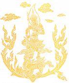 Постер, плакат: Великий божество живопись