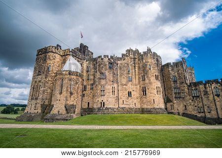 Alnwick Castle in