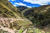 Sacred Valley In Peru poster