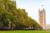 Victoria Tower,  London, United Kingdom poster