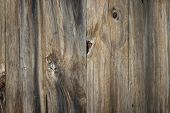 Old Grunge Wood Plank Texture Background. Vintage Wooden Board Wall Have Antique Cracking Background poster