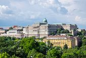 Buda Castle Royal Palace, View From Gellert Hill, Budapest, Hungary poster