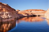 Antelope Canyon Reflection Lake Powell Arizona