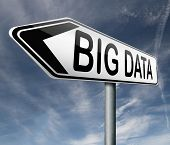 big data exabyte terrabyte or gigabyte in very large data set cloud computing storage