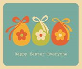 Easter Greeting Card Design