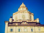 ������, ������: Retro Look San Lorenzo Church Turin