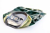 picture of life after death  - crushed beer can - JPG