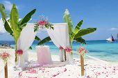picture of cabana  - wedding arch  - JPG
