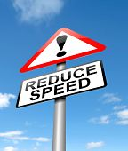 Reduce Speed Concept.