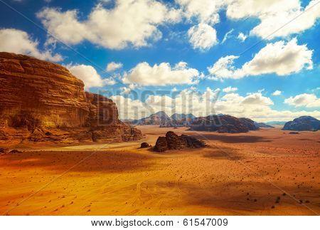 Wadi Rum desert Jordan