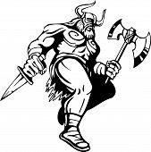 picture of viking  - Nordic viking  - JPG