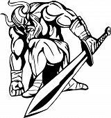 image of viking  - Nordic viking  - JPG