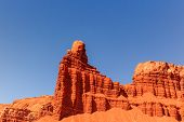 pic of chimney rock  - Chimney Rock at Capitol Reef National Park - JPG