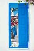 foto of greek-island  - Traditional greek house on Mykonos island Greece - JPG