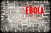 stock photo of world health organization  - Ebola Virus Disease Outbreak and Crisis Art - JPG