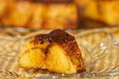 picture of custard  - Delicious creme caramel dessert - JPG