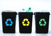 foto of segregation  - Containers For Recycling  - JPG
