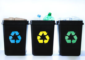 picture of segregation  - Containers For Recycling  - JPG