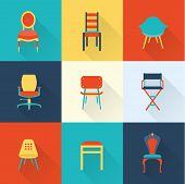 Постер, плакат: Chairs