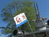 picture of sevastopol  - Flag of the Russian Navy and anti - JPG