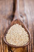picture of quinoa  - Small portion of uncooked Quinoa  - JPG