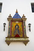 picture of altar  - Detail of an altar in Cadiz with Jesus Christ - JPG