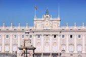 pic of royal palace  - Madrid Spain  - JPG