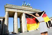 pic of cheer  - German flag  - JPG