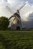 stock photo of windmills  - The windmill Hille  - JPG