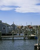 foto of martha  - Beautiful fishing village of Menemsha on Martha - JPG