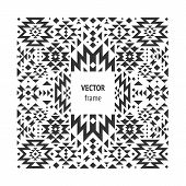 foto of illuminati  - Vector abstract geometric frame - JPG