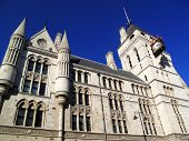 pic of erection  - The Royal Courts of Justice erected between 1874 and 1882 are England and Wales - JPG
