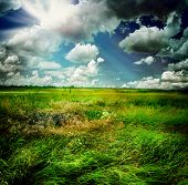 picture of landscapes beautiful  - Beautiful Nature Rural Landscape - JPG