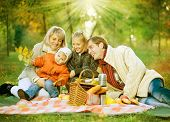 stock photo of family fun  - Picnic - JPG