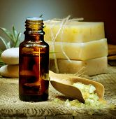 stock photo of essential oil  - Spa Essential Oil - JPG