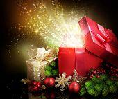 foto of christmas-present  - Christmas Gifts - JPG